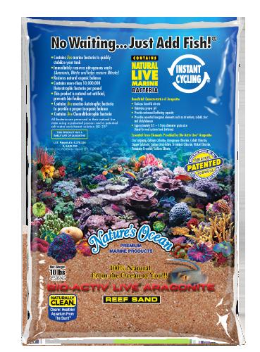 Natures Ocean® Bio-Activ Live® 澳大利亞黃金活沙文石