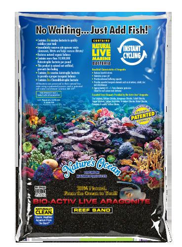 Natures Ocean® Bio-Activ Live® 文石黑土灘砂直播