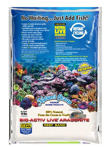 Natures Ocean® Bio-Activ Live® 文石天然白#0現場砂