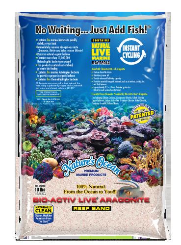 Natures Ocean Bio-Activ live 薩摩亞粉紅活沙文石