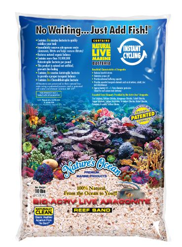 Natures Ocean® Bio-Activ Live® Aragonite Live Reef Substrate